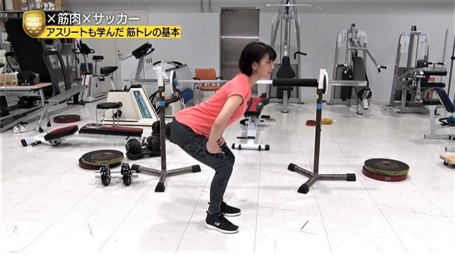 佐藤美希~FOOT×BRAINでピッタリコスチュームで筋トレしている姿がエロくて興奮!0010shikogin