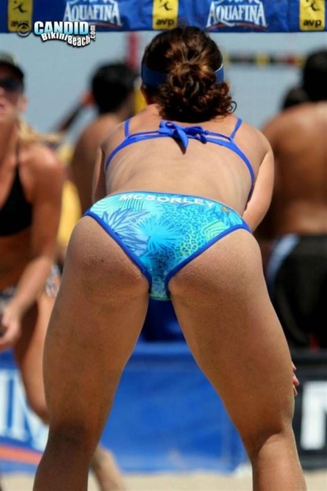 エロ目線でプレーに全く集中できない女子ビーチバレーwwwww0036shikogin