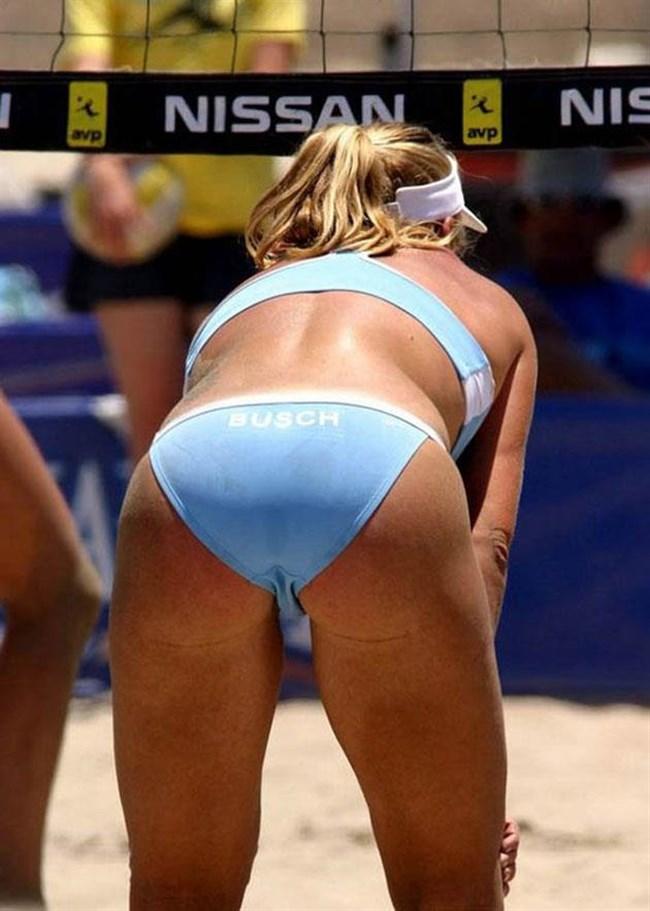 エロ目線でプレーに全く集中できない女子ビーチバレーwwwww0040shikogin