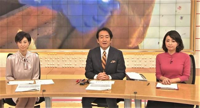 矢島悠子~スーパーJチャンネルでのピチピチニット服のたくましい胸元!0004shikogin