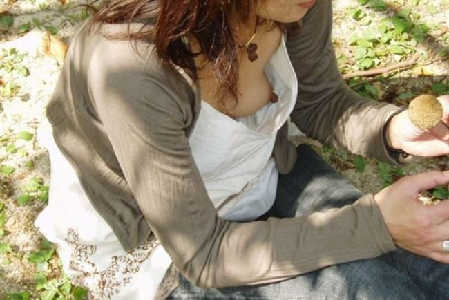 胸元から干しブドウが見えてしまったラッキーエロの瞬間wwww0014shikogin