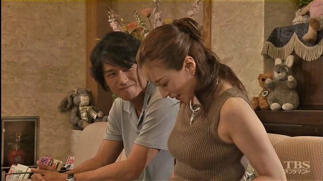 真矢ミキ~TBSドラマのバツ彼での巨乳な着衣オッパイと胸チラが最高に良かった!0015shikogin