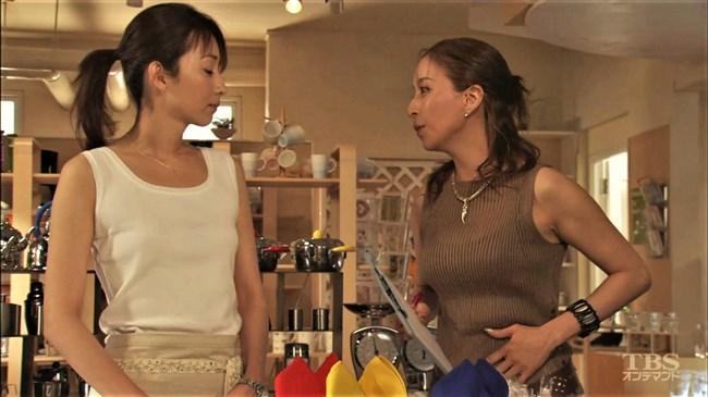 真矢ミキ~TBSドラマのバツ彼での巨乳な着衣オッパイと胸チラが最高に良かった!0017shikogin