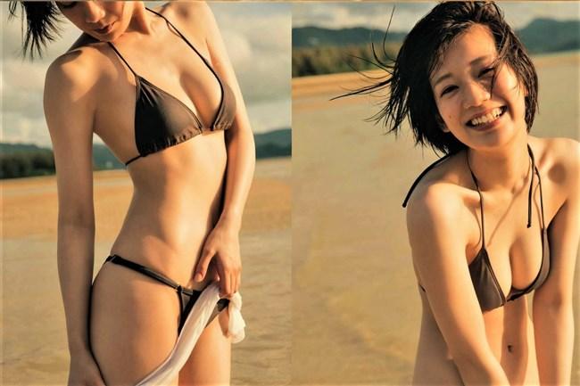 佐藤美希~週刊SPA!の水着グラビアはオッパイが半分出ててエロさ最上級!0006shikogin
