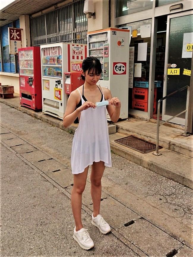 小泉遥~沖縄美人の初となる週プレ水着グラビアがエロ美し過ぎて超ドキドキ!0008shikogin