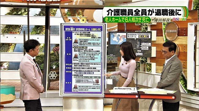 笹川友里~あさチャン!でのオッパイ強調のニット服姿を楽しみに早起き!!0007shikogin