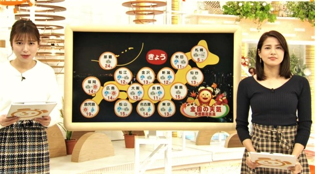 永島優美~朝はユミパンのニット服での胸の膨らみを観るのが日課でした!0003shikogin