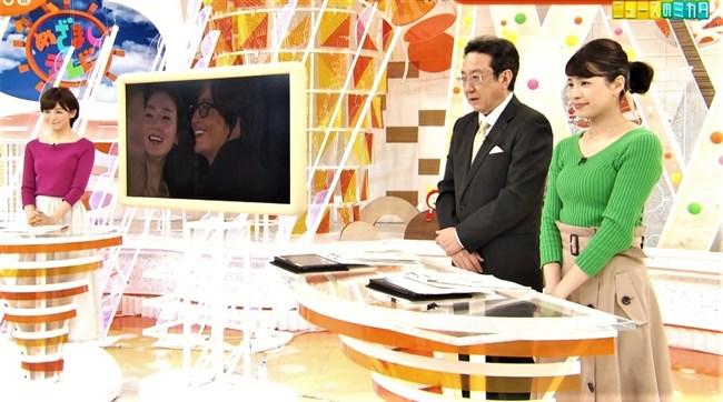 永島優美~朝はユミパンのニット服での胸の膨らみを観るのが日課でした!0004shikogin