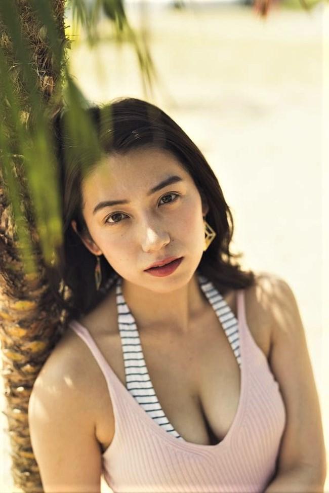 佐藤あいり~ヤングマガジンの水着グラビアは完璧な美しさでエロ女神のよう!0010shikogin