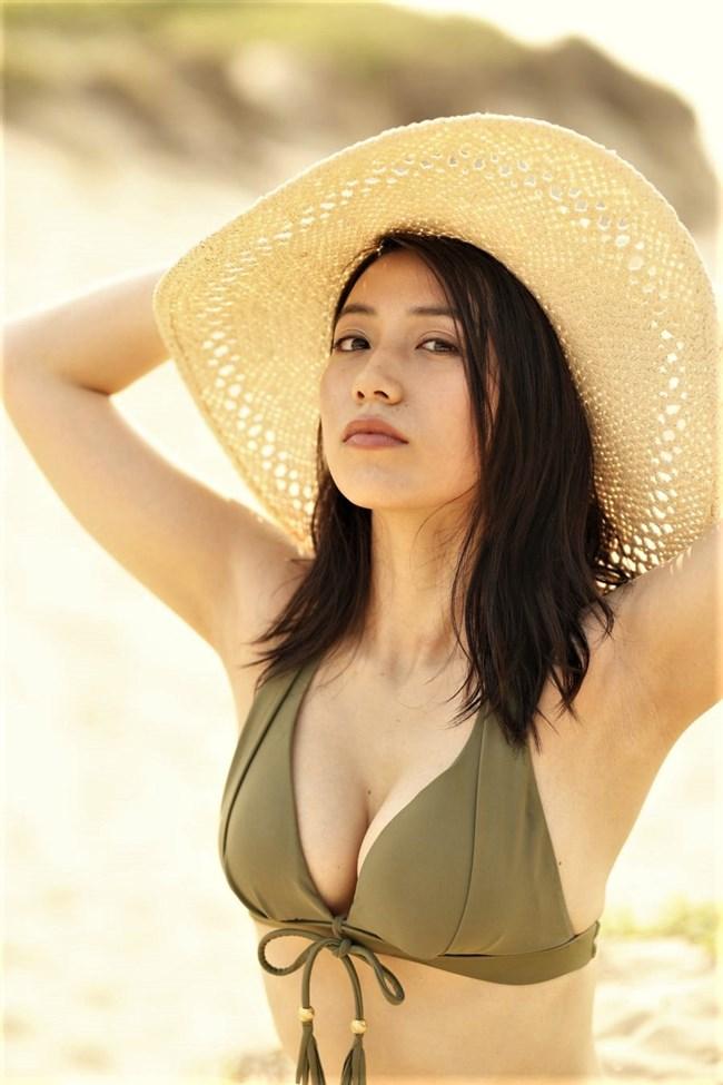 佐藤あいり~ヤングマガジンの水着グラビアは完璧な美しさでエロ女神のよう!0011shikogin