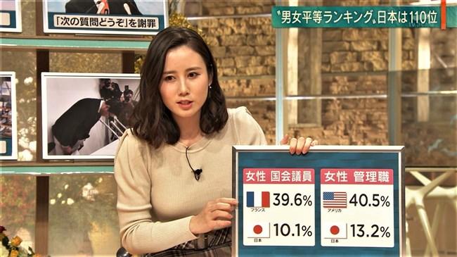 森川夕貴~報道ステーションでのニット服姿がオッパイ強調でエロ過ぎるのよ!0019shikogin