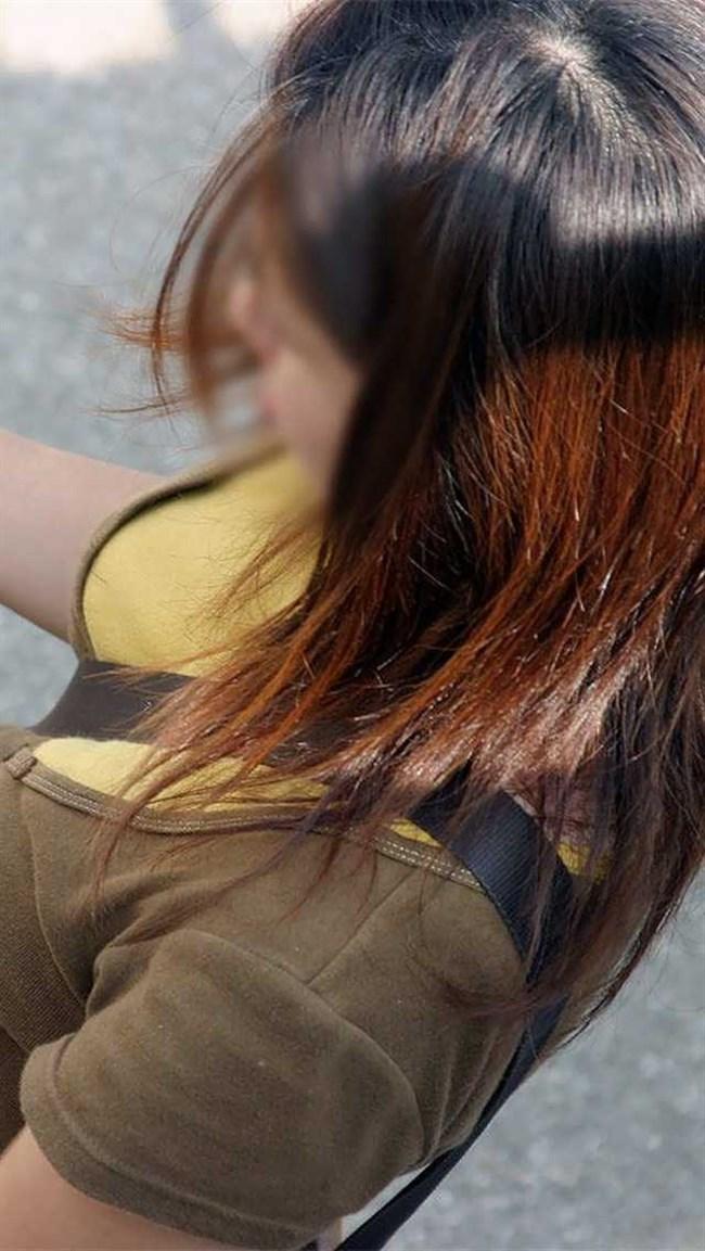過激なパイスラで街を歩く一般の巨乳お姉さんwwwww0004shikogin