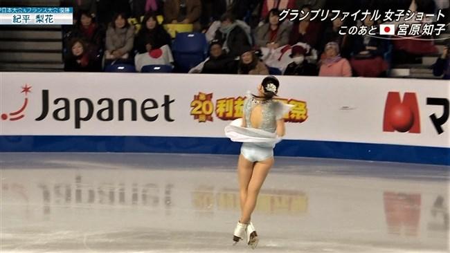 紀平梨花~全日本フィギュアでの丸々ヒップと開脚スケーティングに超興奮!0010shikogin