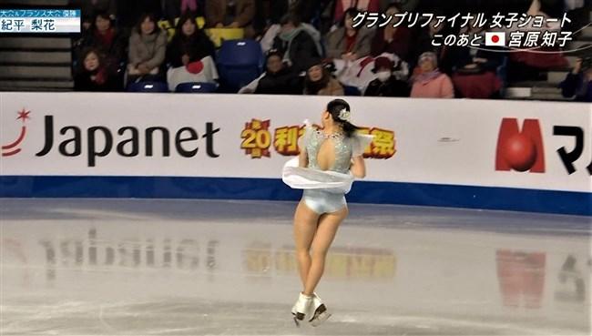 紀平梨花~全日本フィギュアでの丸々ヒップと開脚スケーティングに超興奮!0011shikogin