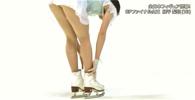 紀平梨花~全日本フィギュアでの丸々ヒップと開脚スケーティングに超興奮!0013shikogin