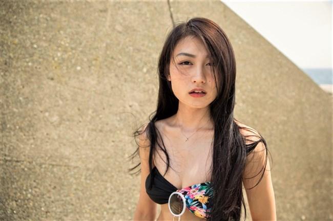 久保田杏奈~RIZINガールに選ばれた超美形の水着姿とエロいコスチューム姿!0002shikogin