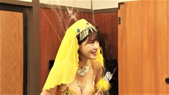 岸明日香~バカ殿でのランプの精コスプレがエロ可愛くて最高だったよ!0008shikogin