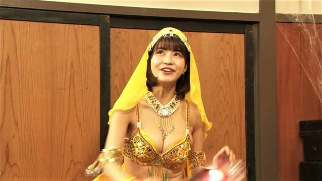 岸明日香~バカ殿でのランプの精コスプレがエロ可愛くて最高だったよ!0009shikogin