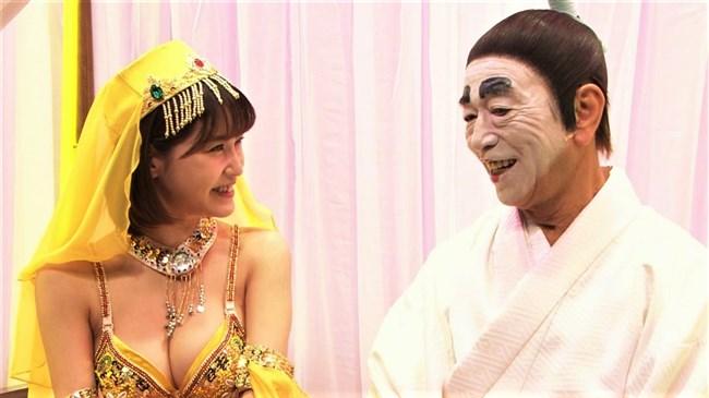 岸明日香~バカ殿でのランプの精コスプレがエロ可愛くて最高だったよ!0013shikogin