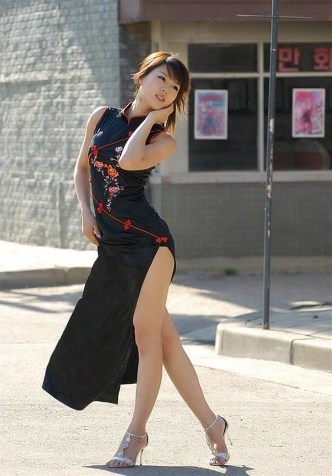 チャイナドレスを着た女性が性的過ぎて即シコれるレベルwwwww0002shikogin