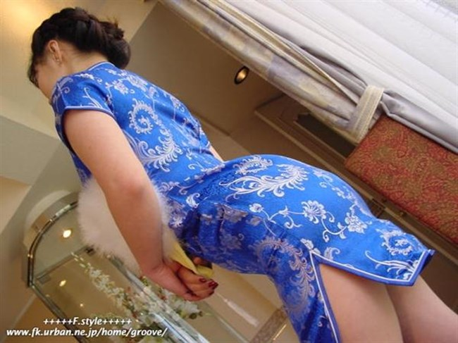 チャイナドレスを着た女性が性的過ぎて即シコれるレベルwwwww0032shikogin