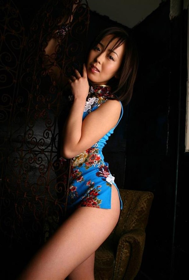 チャイナドレスを着た女性が性的過ぎて即シコれるレベルwwwww0034shikogin