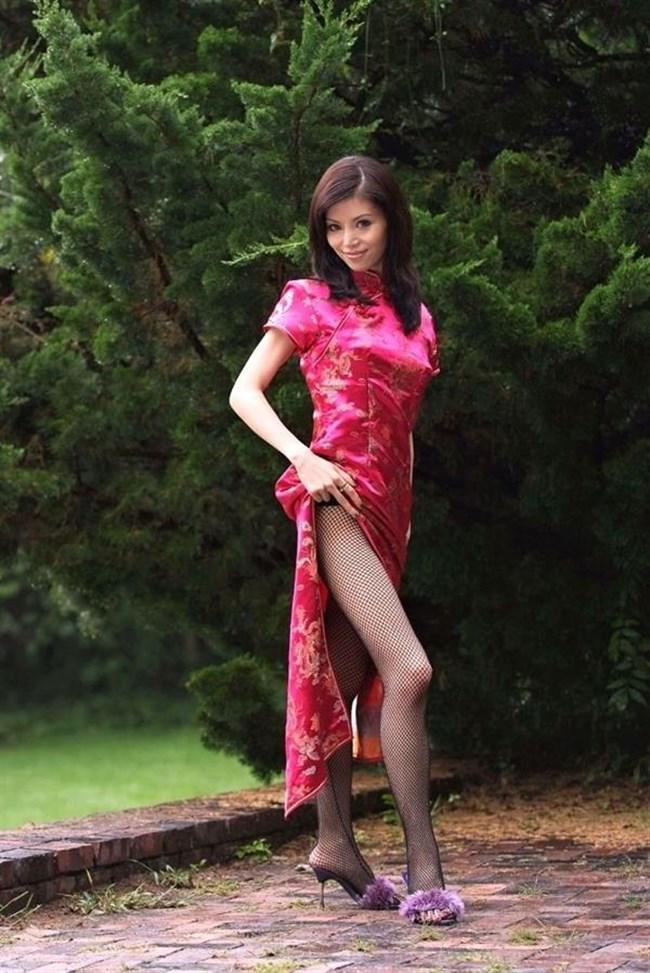 チャイナドレスを着た女性が性的過ぎて即シコれるレベルwwwww0037shikogin