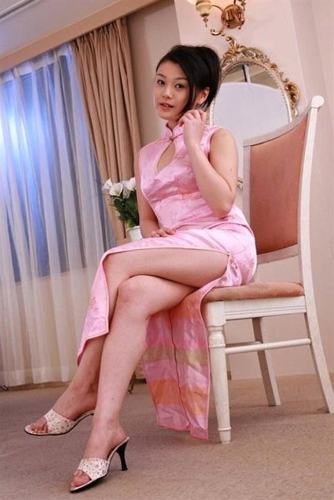 チャイナドレスを着た女性が性的過ぎて即シコれるレベルwwwww0038shikogin
