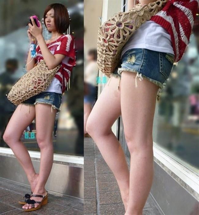 街行く一般人女子の生足が美味しそうな着衣エロ画像0014shikogin