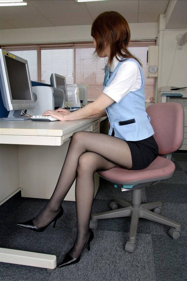 仕事に集中できなくなるOL制服とパンスト美脚のコラボwww0019shikogin