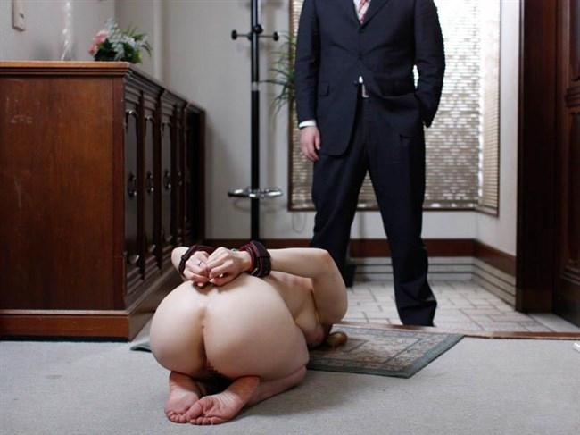 奴隷志望のドM女性が全裸で土下座するシュールな絵wwww0014shikogin