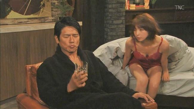 篠田麻里子~ドラマ後妻業での胸の谷間を見せたキャミ姿が超エロくて興奮!0011shikogin