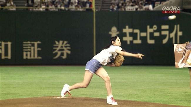 長谷川玲奈[NGT48]~始球式のプリ尻がエロくて興奮!まほほんの味方を貫いたイイ子だ!0012shikogin
