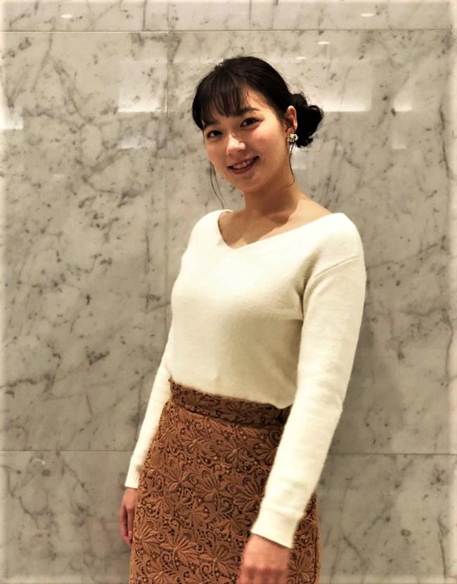 阿部華也子~ここ最近のニット服でのオッパイの膨らみがマジたまらない!0011shikogin