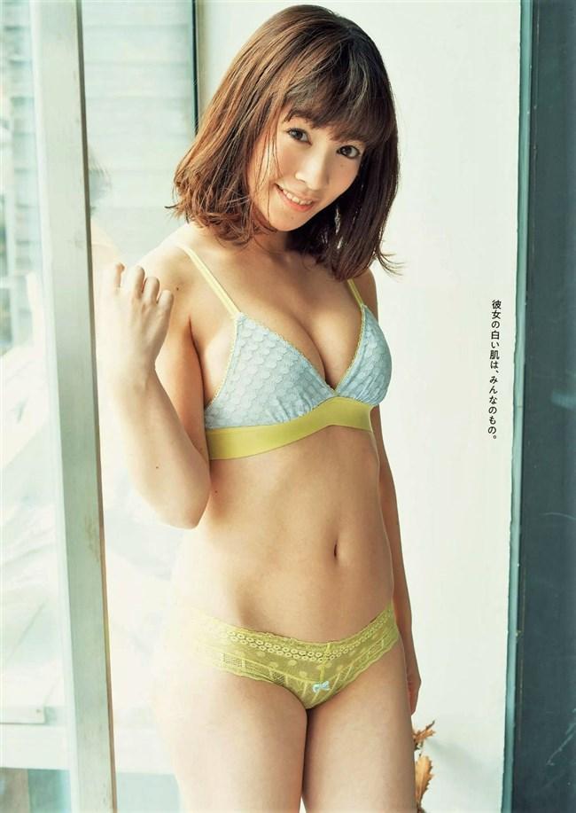 百瀬はる夏~クロちゃんで注目された美形の初水着グラビアは超イイ身体で最高!0004shikogin
