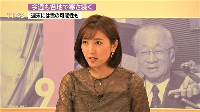 小澤陽子~代理のプライムNEWSで完全に狙ってのキャミ透け!意外としたたか!0007shikogin