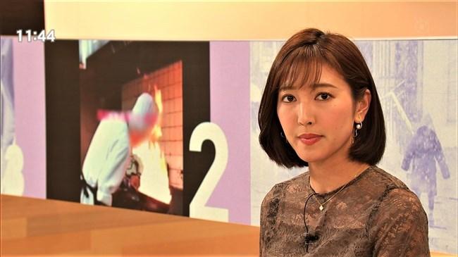 小澤陽子~代理のプライムNEWSで完全に狙ってのキャミ透け!意外としたたか!0008shikogin