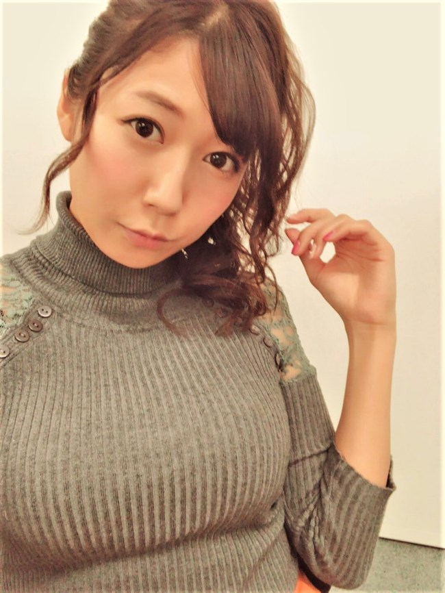 穂川果音~Abemaニュースでの巨乳なニット服の膨らみが眩しい気象予報士!0005shikogin