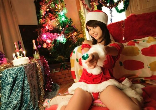 もうすぐクリスマスだからサンタのえちえちコスをどうぞwwwww0014shikogin