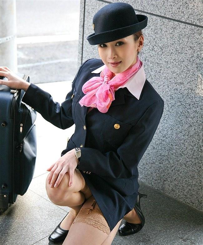 接客ストレスはセックスパートナーで発散!美人CAの夜の営みwww0004shikogin