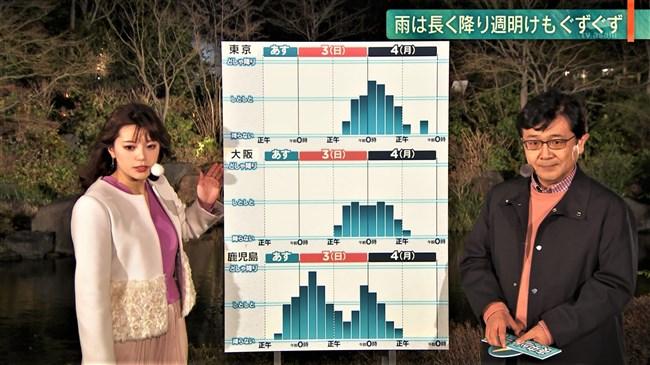 三谷紬~日曜日の報道ステーションでスカートが張り付き下半身があらわに!0008shikogin