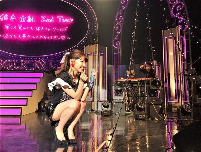 柏木由紀[AKB48]~全国ソロツアーでのショーパン姿のパンチラが超エロくてドキドキ!0007shikogin