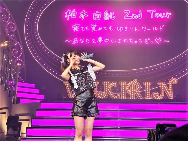 柏木由紀[AKB48]~全国ソロツアーでのショーパン姿のパンチラが超エロくてドキドキ!0002shikogin