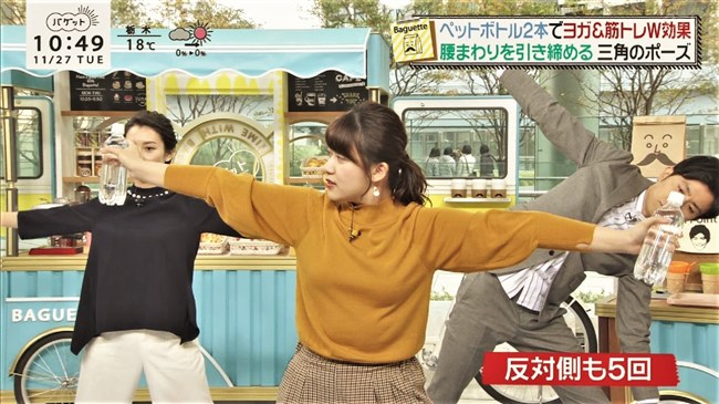 尾崎里紗~Tシャツ姿でのムッチリした上半身の胸の盛り上がりがエロくて最高!0010shikogin