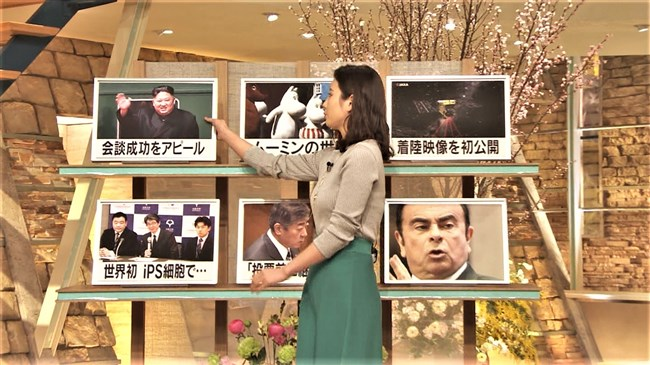 森川夕貴~3月に入っても報道ステーションでのオッパイ強調は止まらない!0007shikogin