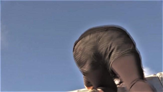 鷲見玲奈~スパルタンレースでのパン線クッキリのヒップを真下から撮影!0012shikogin