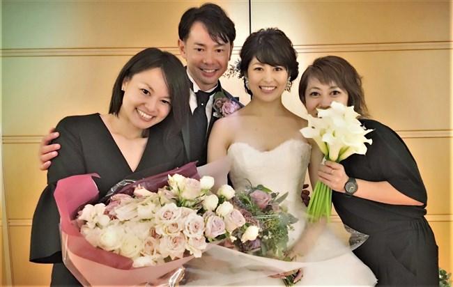 森麻季~再婚時のウェディングドレス姿がオッパイ強調で悩殺的過ぎます!0007shikogin