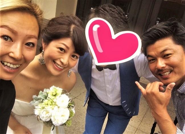 森麻季~再婚時のウェディングドレス姿がオッパイ強調で悩殺的過ぎます!0009shikogin