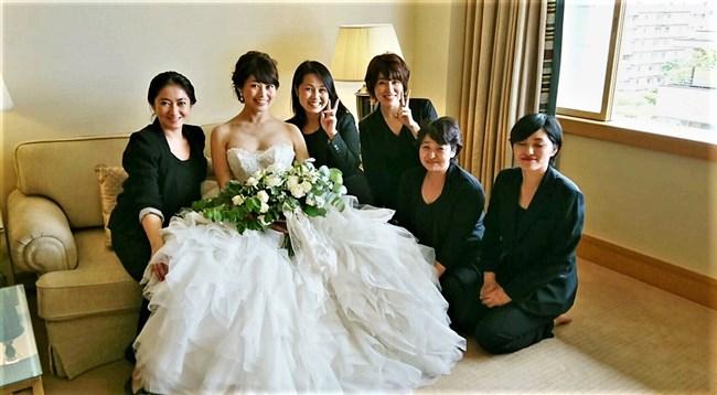 森麻季~再婚時のウェディングドレス姿がオッパイ強調で悩殺的過ぎます!0006shikogin