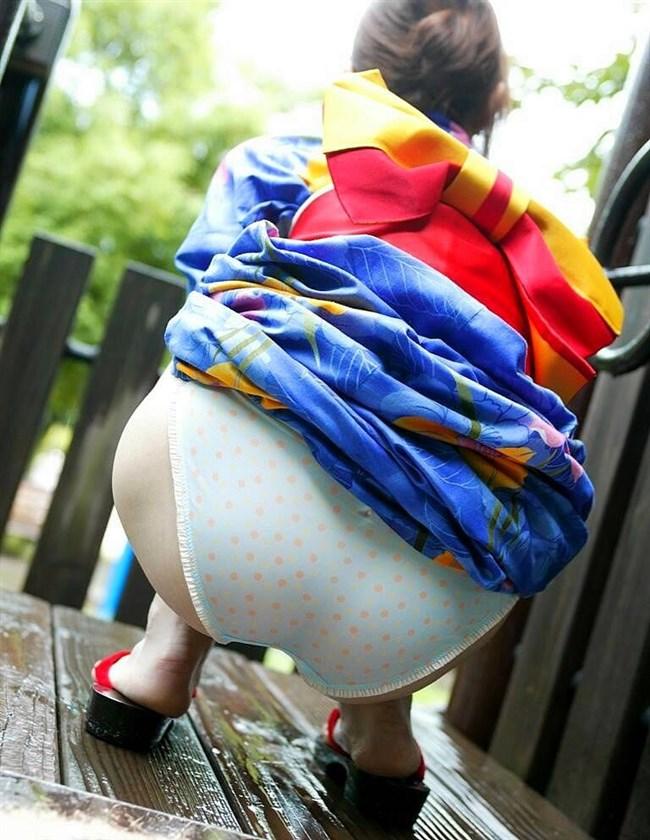 着物きたお姉さんの着崩れた色っぽさにフル勃起してしまう法則wwww0025shikogin